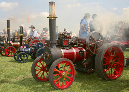 ASTLE PARK TRACTION ENGINE RALLY – Outdoor Shows