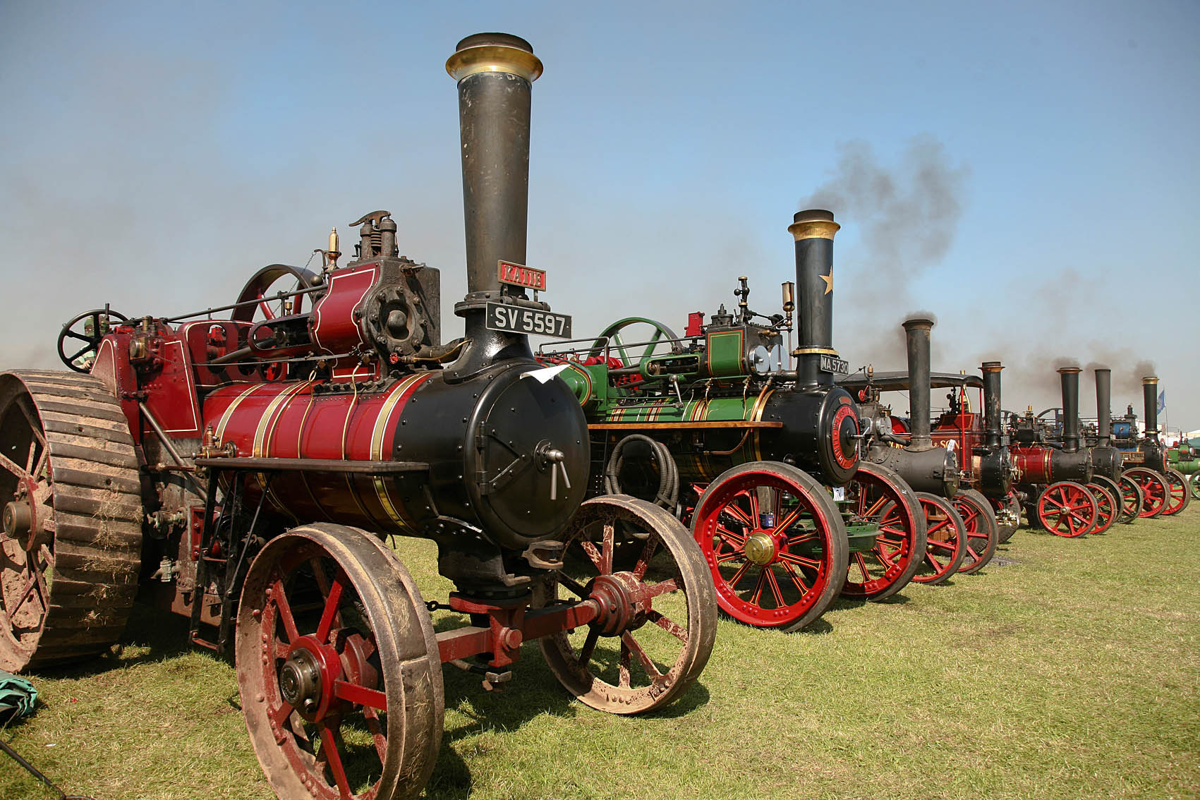 Yorkshire Traction Engine Rally – Outdoor Shows